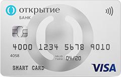 карта с кэшбэком банк открытие