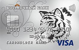 восточный банк кредитная/дебетовая